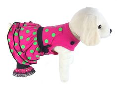 UP Collection Triple Skirt for Dogs, Fuchsia, Medium * Find out more details by clicking the image : dog clothes