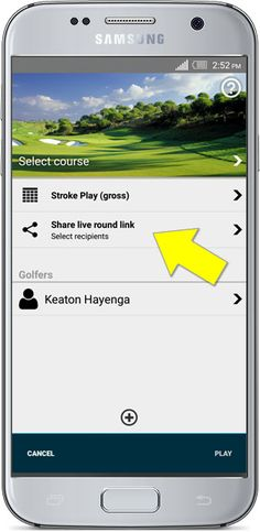 Share your #golfround in realtime with #GolfPad #golfapp #golftips #golfshare #sharegolf #knowyourgame