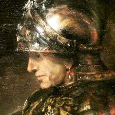 Man met oorbel Late Rembrandt @rijksmuseum