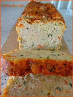 Cuisine Tuna bread (I added soup of ketchup, put that grated not put the tomatoes and just 2 Easy Dinner Recipes, Breakfast Recipes, Breakfast Ideas, Tapas, Food Porn, Cooking Recipes, Healthy Recipes, Finger Foods, Love Food