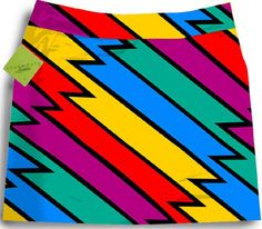 Loudmouth Ladies Captain Thunderbolt Skort - LOVE this for golf!