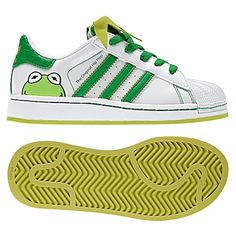 Kermit the Frog sneakers Umm YES PLEASE!
