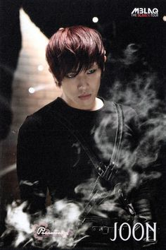 Joon ♡  I like how he can look like an intense psycho killer but is the nicest guy in real life..  I get off on intensity..