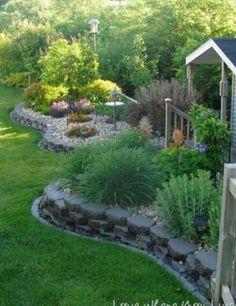 Peacefull backyard