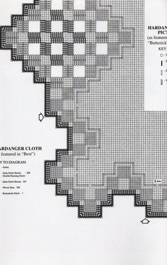2 Hardanger Embroidery Leaflets by AnniesBookshop on Etsy