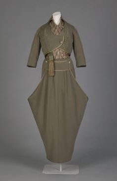 1914 Setting out Ensemble: jacket, vest, and skirt (Marshal Field & Co.)