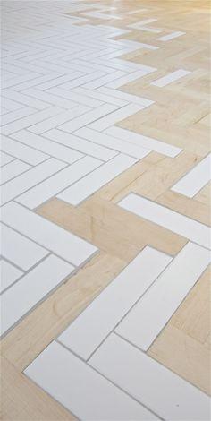 Nouveau, les sols mixtes apparaissent de plus en plus dans les rénovations. Les motifs à chevrons et géométriques ont fait …Lire la suite →