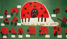 What made the ladybug so grouchy? The Grouchy Ladybug by Eric Carle  Kindergarten Writing