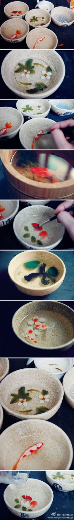 Too realistic. Painting on resin