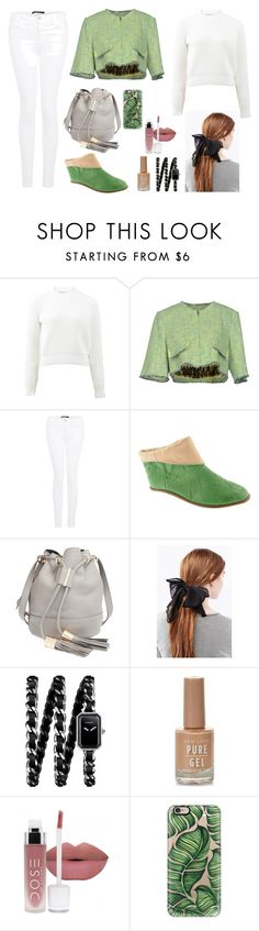 Fall(ing) In Love by dinyvia on Polyvore featuring T By Alexander Wang, MSGM, J Brand, Marjorie's Bazaar, See by Chloé, Chanel, Casetify, fallstyle and Fall2016