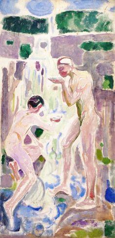Edvard Munch - The Source, 1913