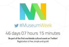 Ed ecco arrivare la notizia #SocialEvents di oggi, su Twitter dal 23 al 29 marzo 2015 si svolgerà anche quest'anno la #MuseumWeek 2015 seconda edizione dell'evento.  Info: http://museumweek2015.org/en/