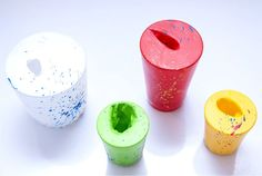 Uma sugestão criativa para quem gosta de artesanato. Veja agora como fazer vasinhos com bexigas!