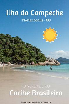 Conheça a Ilha do Campeche, em #viagem anópolis, Santa Catarina. O verdadeiro caribe brasileiro. Uma das praias mais lindas do #brasil