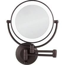 NEXT GENERATION Oil Rubbed LED Lighted Wall Mount Mirror with Lemongrass & Lavender Body Butter (Yellow)