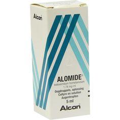 ALOMIDE Augentropfen:   Packungsinhalt: 5 ml Augentropfen PZN: 01247470 Hersteller: EMRA-MED Arzneimittel GmbH Preis: 6,73 EUR inkl. 19 %…