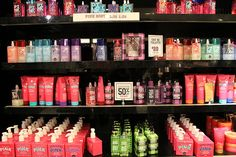 ~go on a no limit shopping spree at pink/victoria secret