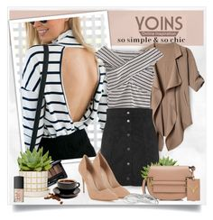 """""""Yoins190"""" by sneky ❤ liked on Polyvore featuring Valentino, Lipsy, Guerlain, NARS Cosmetics, yoins, yoinscollection and loveyoins"""