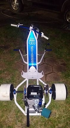 Gokart Plans 759138080908244235 - Outlaw Custom Drift Trikes Source by belmaincedric Bike Drift, Drift Trike Motorized, Custom Trikes, Picture Mix, Trike Motorcycle, Kids Ride On, Big Wheel, Buggy, Karting