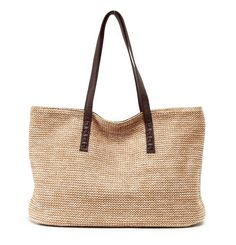 $24.99     Casual Apricot Straw Bag
