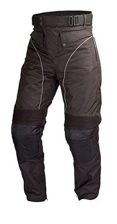 Army RangerBlack grey Camouflage Cordura Armoured Waterproof Motorcycle Trousers