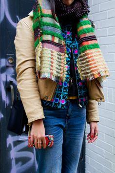 Street Style From New York Fashion Week, Day 4 Trendy Outfits, Fashion Outfits, Fashion Weeks, Fashion Trends, Star Fashion, Womens Fashion, Whimsical Fashion, Pattern Fashion, Mantel