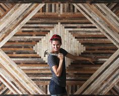 Ariele Alasko makes eye catching furniture from reclaimed wood.