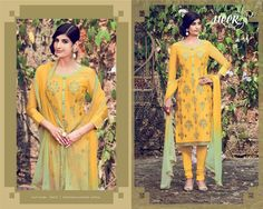 Beautiful yellow Designer suit more inquiry please what's app me+918128939797 😊😊😊