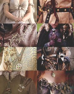 Game of Thrones costume details