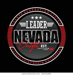 Nevada, Illustration Vector, Lettering, Shutter, Graphic, Design, T Shirt, Lyrics, Illustrations
