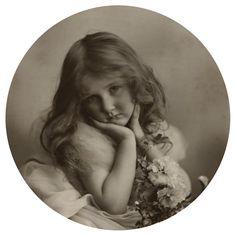 Marjorie McGegan Portrait  by Rita Martin. 1906