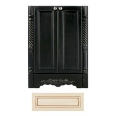 Architectural Bath Versailles Vanilla/Chocolate Traditional Bathroom Vanity (Common: 36-in x 21-in; Actual: 36-in x 21-in)
