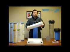Untreated Well Water Filter System - YouTube