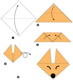 Simple origami for kids and their parents. Selection of funny and cute figures – DIY is FUN