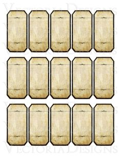 Blank Vintage Apothecary Bottle Jar Labels Tags by VectoriaDesigns Bullet Journal Cover Ideas, Bullet Journal Art, Apothecary Bottles, Bottles And Jars, Printable Labels, Labels Free, Wallpaper Background Design, Herb Labels, Potion Labels