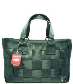 carriage large satchel evergreen :: evergreen :: shop by color :: harveys seatbelt bags :: handbags :: Material Girl Handbags