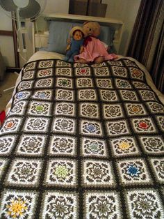Star Afghan by Cates Chaos, via Flickr