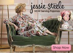 I love my Jessie Steele apron... now I need these pajamas!!