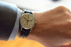 Vintage Hermes Chronograph by Universal Geneve • Selectism