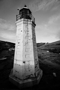 Lighthouse, Lybster Harbour, Caithness