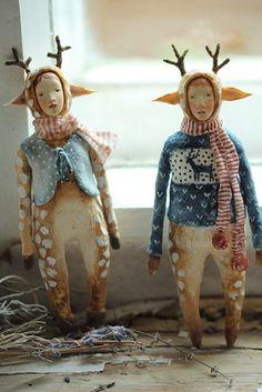 shigeru onda et audrey saint-yves passeuse d'âmes Clay Dolls, Doll Toys, Art Dolls, Origami, Paper Mache Crafts, Paperclay, Little Doll, Soft Sculpture, Art Plastique
