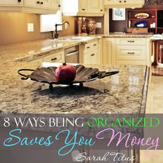 8 Ways Being Organized Saves You Money