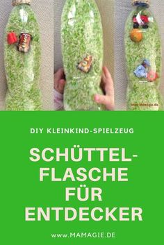 DIY Dienstag: Entdecker-Schüttelflasche Homemade children's toys: Shake bottle to discover for toddlers Diy Gifts For Christmas, Diy Gifts For Kids, Toddler Gifts, Toddler Toys, Diy For Kids, Crafts For Kids, Baby Co, Baby Kids, Blog Crochet