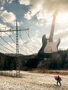 Gitar og strøm