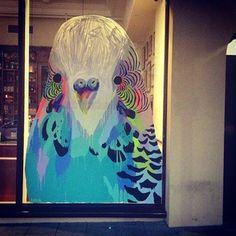 Anya Brock street art, Perth