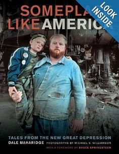 In Someplace Like America, writer Dale Maharidge and photographer Michael S. Williamson take us to the working-class coronary heart of America, bringing to life–by shoe leather-based reporting, memoir, vivid stories, gorgeous photographs, and considerate evaluation–the deepening crises of poverty and homelessness.