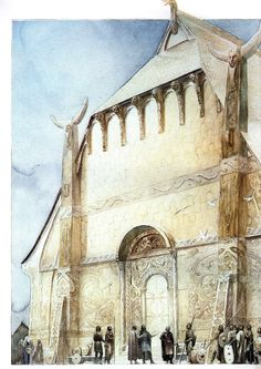 Alan Lee Victory Hall of Hrothgar  (off 'Castles')