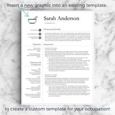 Intern Resume Template Excel Nurse Resume Template For Word A  Letter Nursing Resume     Types Of Resumes Excel with Best Font For A Resume Custom Resume Template  Custom Resume Design For Word  Pages How To Build A College Resume Excel