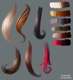 Results from Hair Tutorial on DeviantArt Results from Hair . - Art - Results from hair tutorial on DeviantArt hair results - Digital Art Tutorial, Digital Painting Tutorials, Art Tutorials, Digital Paintings, Drawing Tutorials, Drawing Techniques, Drawing Tips, Drawing Ideas, Drawing Art