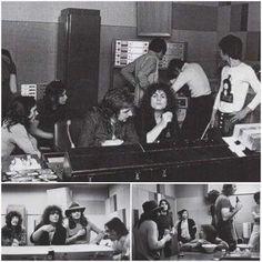 T.Rex in the studio